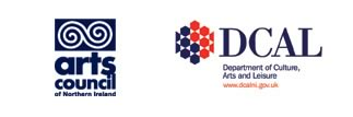Arts Council of Northern Ireland and DCAL logos