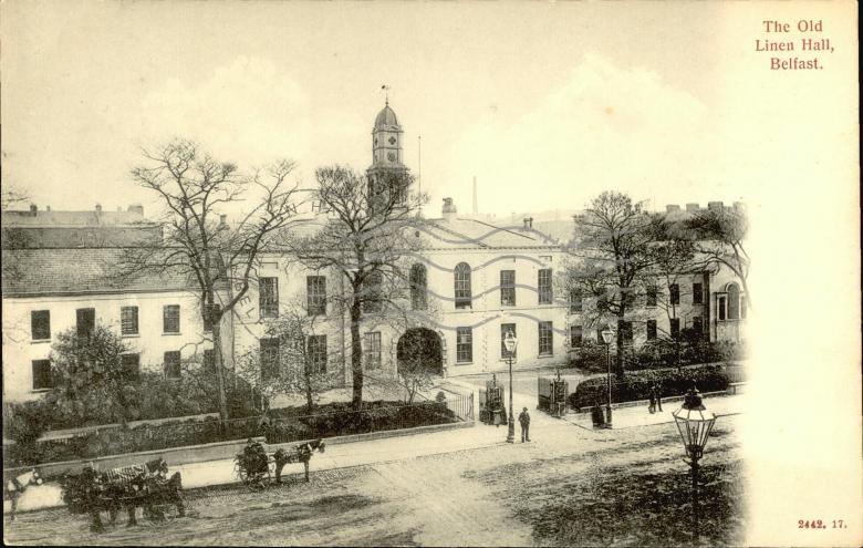 The Old Linen Hall, Belfast | Postcards Ireland