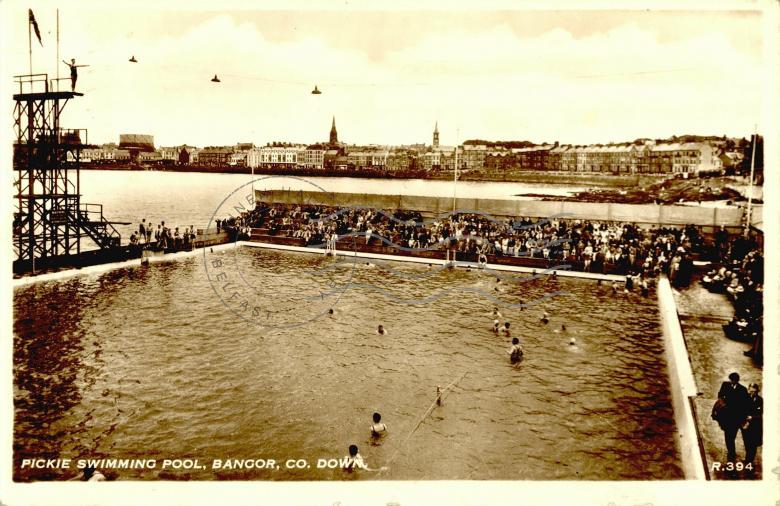 Pickie swimming pool bangor co down postcards ireland - Bangor swimming pool northern ireland ...